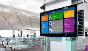 solutions, digital signage
