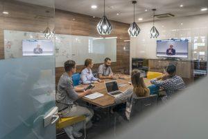 projector, boardroom, screen