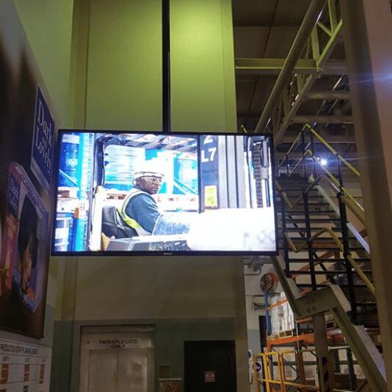evacuation, display