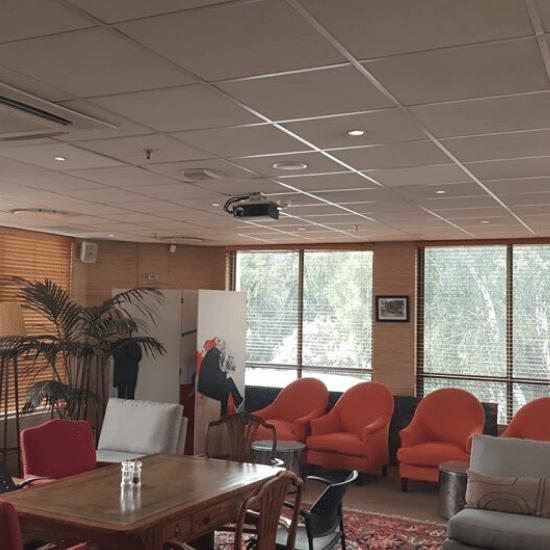 audio visual, reception area